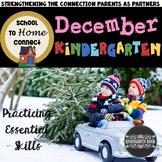School To Home Connect Kindergarten December Homework