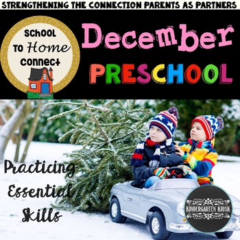 December Homework Packet: Preschool Edition