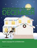 December Homework or Class Activities - Kindergarten & Fir