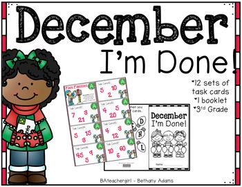 December I'm Done ~*Third Grade*~