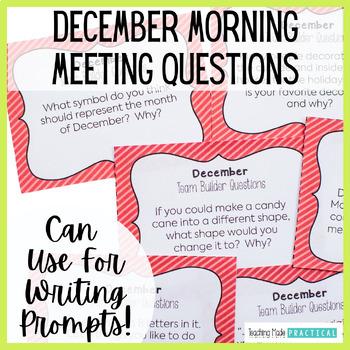 Class Meeting Questions: December