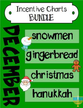 December Incentive Chart BUNDLE