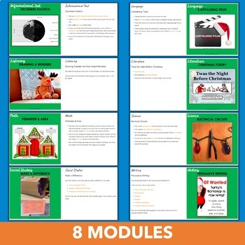 December Independent Learning Module (ILM) - Internet Anchor Activities