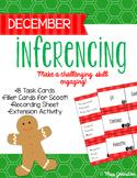 December Inferencing Task Cards