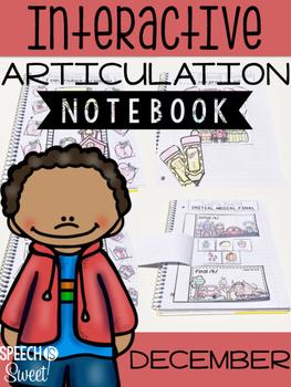 December Interactive Articulation Notebook