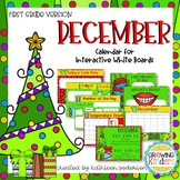 December Interactive Calendar Flipchart for 1st Grade