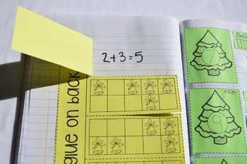 December Interactive Math Journal Kindergarten