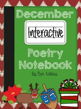 December Interactive Poetry Notebook 2-3