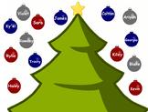 December Interactive Smartboard Attendance