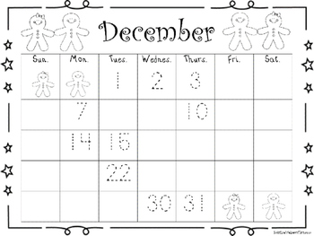 December Calendars and Matching Journal Covers