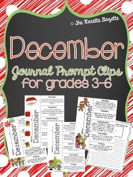 December Journal Prompt Clips-REVISED
