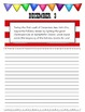 December Journal Prompts Printable Notebook Common Core W.1, W.2, W.3