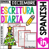 SPANISH December Journal Prompts