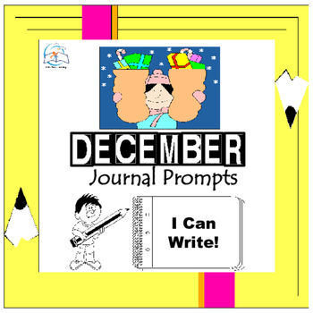 December Writing Prompts Quick Writes