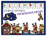 December Journal Prompts for Beginning Writers