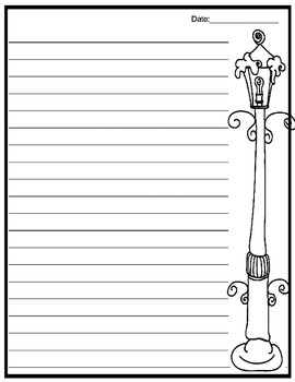 December Journal Write(Christmas writing papers)