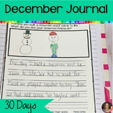 December Journal Writing   Writing Prompts