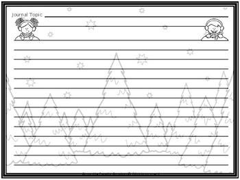 December Journal Writing Activities