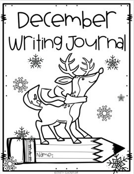 December Writing Journal Pages