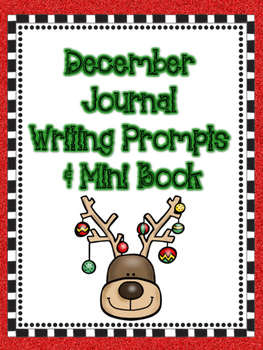 December Journal Writing Prompts & Mini-Book