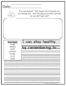 December Journals for Primary Students