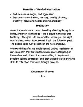December Joy Guided Meditation