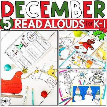 December K-1 Bundle: Interactive Read-Aloud Lesson Plans Curriculum