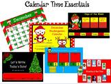 December Kindergarten Calendar for ActivBoard