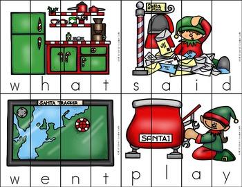 December Kindergarten Centers - Literacy