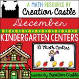 December Kindergarten Centers - Math