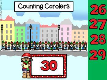 December Kindergarten Digital Math Centers For GOOGLE CLASSROOM