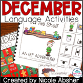 December Language Activities for Speech Therapy