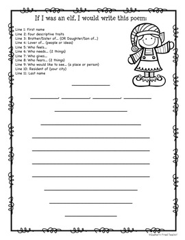 December Language Arts Stations