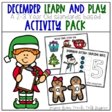 December Learn and Play Toddler Activities