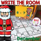 December Learning Hunt - Write the Room- I Spy ELA/Math Ce