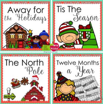 December Lesson Plans Series 3 [Four 5-day Units]