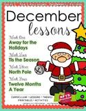 December Lessons Preschool Pre-K Kindergarten Curriculum BUNDLE S3