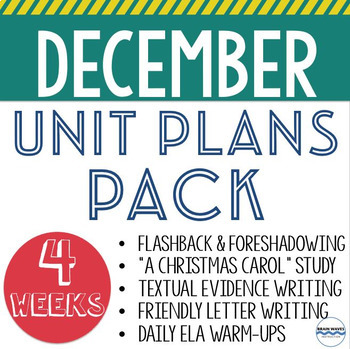 December Lesson and Unit Plans - 5 engaging units to teach all December long!