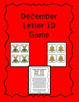 December Letter ID Game