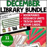 December Library Activities BUNDLE