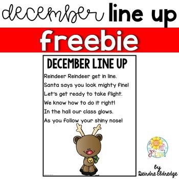 December Line Up FREEBIE