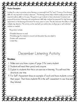 December Listening