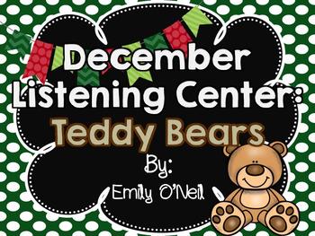 December Listening Centers - Teddy Bears