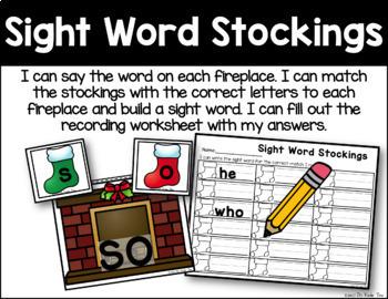 December Literacy Activities