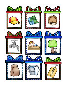 December Literacy Center (Word Families)