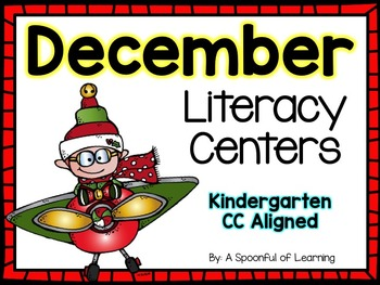 December Literacy Centers! Aligned to the CC