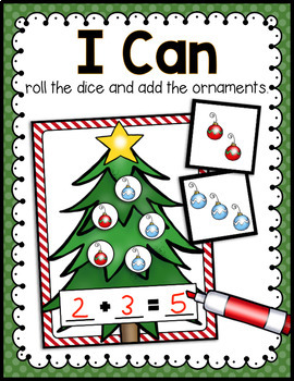 DECEMBER LITERACY CENTERS AND MATH CENTERS
