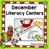 Holiday Literacy Centers Kindergarten