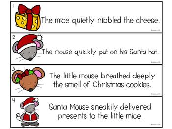 December Literacy Stations