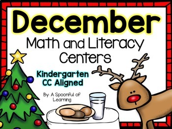 December Literacy and Math Centers! (Bundled) Aligned to the CC